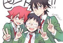 Anime ↬ Yowamushi Pedal