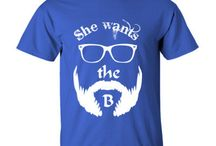 Beard T Shirts / Variety Of Beard T Shirts Designs