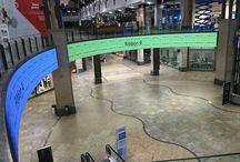 Centre commercial CentrO / Ecran geant LED