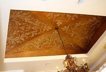 decorazioni murali e soffitti