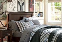 Boys bedroom / inspiracje