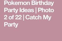 Pokemos birthday
