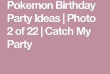 Pokemos birthday