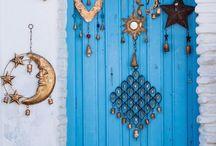 πορτα γαλαζια