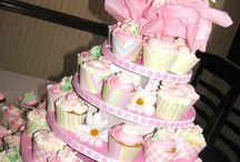 Bridal and Baby Showers / Cupcakes are the perfect choice to serve at your next bridal or baby shower.  Our Cupcaketrees are the perfect solution!