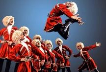 Circassian dancing - dancer