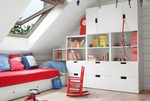 Attic boy room