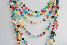 C>decorations>streamers+garlands / by Claire