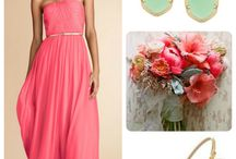Looks You'll Love!  / Bridesmaids Gowns paired with the PERFECT Accessories!