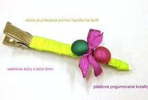 IDEAS - HEADBANDS / NÁPADY - ČELENKY / ...from our assortment.../...z našeho materiálu...
