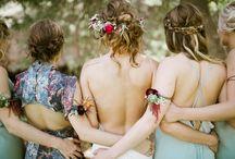 Flower arm band