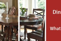 Dining Room / Dining room ideas; tips and advice. Prince furniture has beautiful Ashley dining room collections!