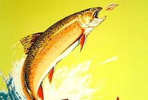 Vintage Fishing Posters / See what was going on in the past and now