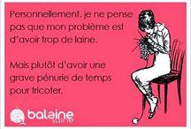 Les Rigolos'Post de Balaine Laine ! / Des petites cartes rigolotes sur, et avec, les tricoteuses ;) / by Balaine Laine