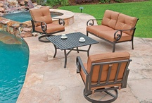 Outdoor Deep Seating / The stuff of dreams to sit under the sky in comfort! / by Chair King Backyard Store