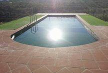 Piscina ecológica 2014 / En aldea ecorural tenemos la piscina de electrolisis salina por lo que no utilizamos químicos, solo utilizamos sal que es cloruro.