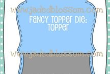 Fancy Topper Die
