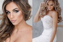 Our collection of bridal looks / Hairdo and makeup