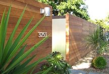 Front fence