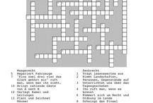 Kreuzworträtsel für die Logopädie