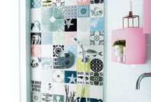 aquarium bathroom / bathroom - shower - color - happybath