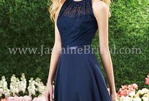 Jasmine/B2/Belsoie Bridesmaids / Bridesmaids dresses by B2/Belsoie.