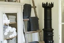 ladders / Great ideas using ladders for decor, gardening and DIY projects.