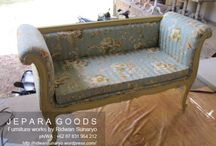 Vintage Bench - Love 2 Seater