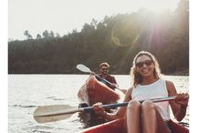 Lakefront Honeymoon in Maine / Discover an amazing lakeside honeymoon in Maine at Wolf Cove Inn! Our luxury inn on the shores of Tripp Lake offers romantic suites and a private cabin, plus lots of fun outdoor activities to enjoy together!