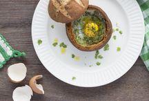Brood en ei / De heerlijkste broodgerechten met ei
