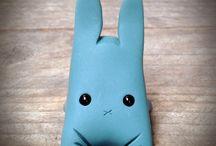 """Cute Weird Rabbits"" Figurine (2015)"