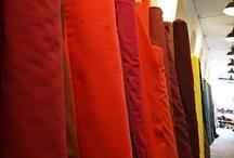 Rød / stof rødt stof,