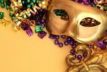 Mardi Gras / Happy Mardi Gras, Fat Tuesday Donut Day, Pancake Day  This is symbolic of the act of enjoying your vices one last time before giving them up for Lent, the 40 day period before Easter. Lent begins on Ash Wednesday.