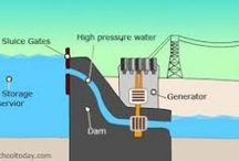 Hydro/Water Energy / The worlds most powerful renewable energy source, learn how hydro energy can help out our planet and fix climate change.