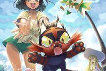 Pokemon Sun and Moon fanart