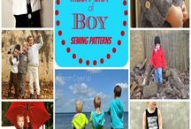 Sewing - boys / Patterns, tutorials, ideas and inspiration for sewing for the boys in your life.