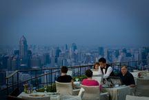 Top-15 van Rooftop Bars in Bangkok deel 1