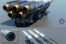 Scifi ship weapons