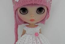 Blythe dolls...