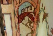 schilderen / Mijn muurschildering