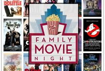 Family Movie Night / Snacks, games and activities for the perfect family day-in.