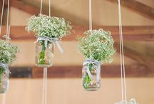 String Wedding Decor Ideas  / String not only looks great as part of your wedding decor...it's CHEAP too!