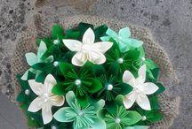 centro tavola origami