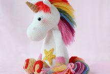 Unicorno crochet