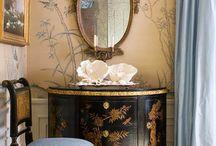 French interiors | Chinoiserie | English interiors