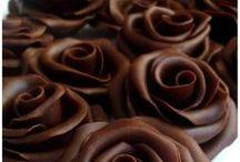 Pâte de chocolat (faire des roses....)