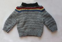 Crochet sweaters and ponchos / Sweaters and ponchos for kids