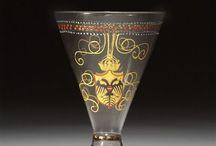 Medieval glassware