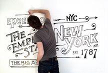 typography & design / by Toni Telepman