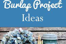 Burlap Projects